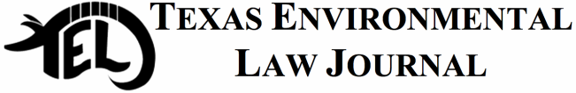 Texas Environmental Law Journal